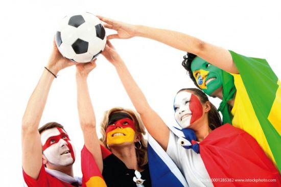 WM-Fußballspiel
