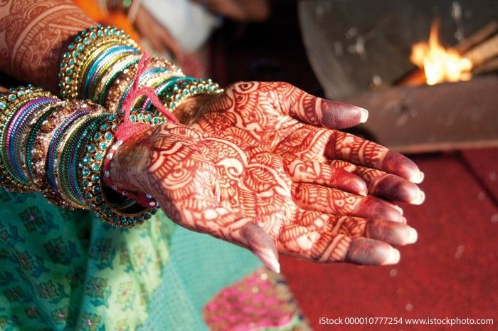 Handbemalung mit Henna