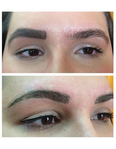 Augenbrauen-Neugestalung-bei-einer-jungen-Frau