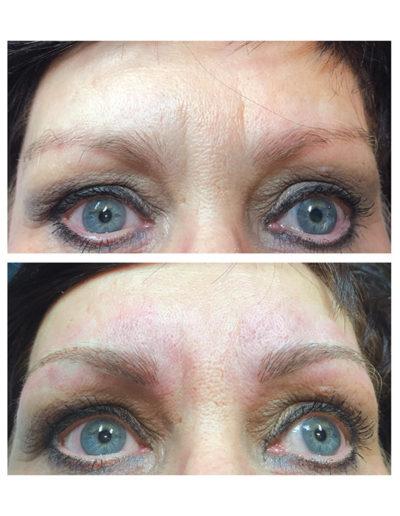 Brauenneugestaltung-bei-dunkelhaariger-Frau-durch---Permanent-Make-up