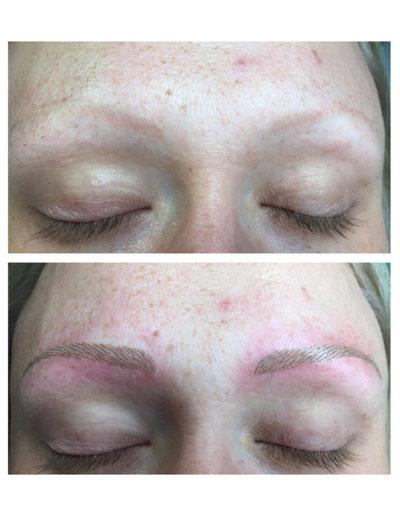 Korrektur-rötlich-Permanent-Make-up