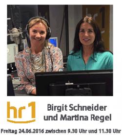 HR1 Inter. mit Birgit Schneider