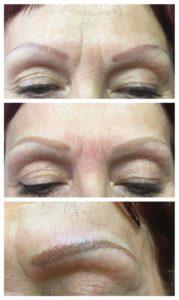 18-rötliche-unsymmetrische-Verzeichnung-Brauenneugestaltung-und-Korrektur-durch-Permanent-Make-up-Spezialistin-Birgit-Schneider_1100x1146