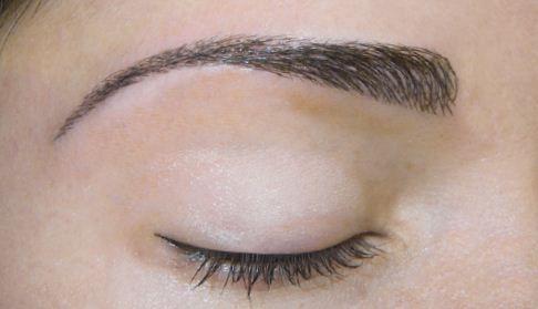 augenbrauenformen permanent line make up