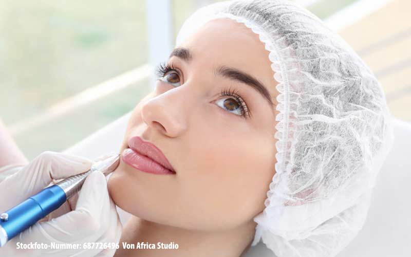 Behandlung Permanent makeup